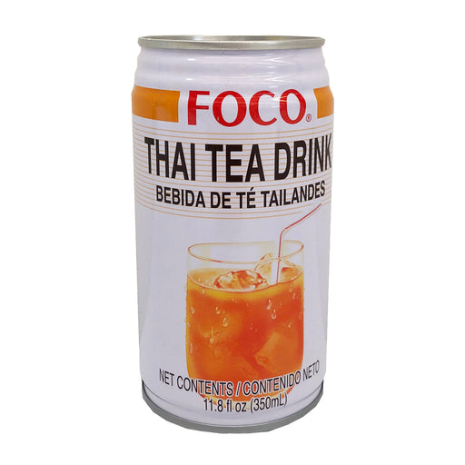 Package Foco Thai Tea Drink 11.8oz Front