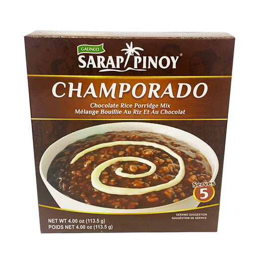 Package Galinco Sarap Pinoy Champorado 4oz Front