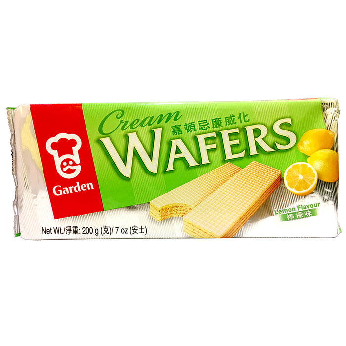 Garden Cream Wafers - Lemon 7oz