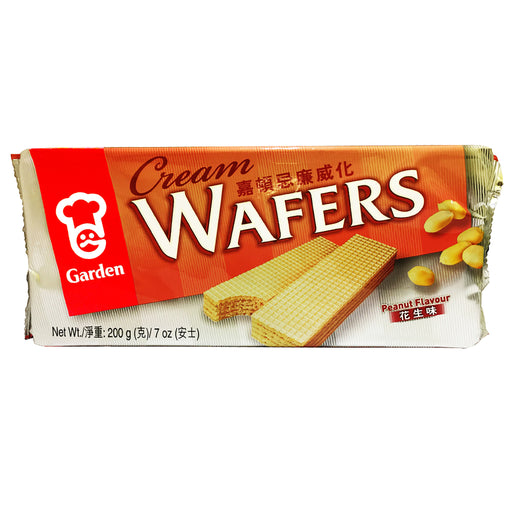 Garden Cream Wafers - Peanut 7oz Image 1