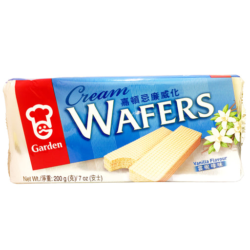 Garden Cream Wafers - Vanilla 7oz Image 1