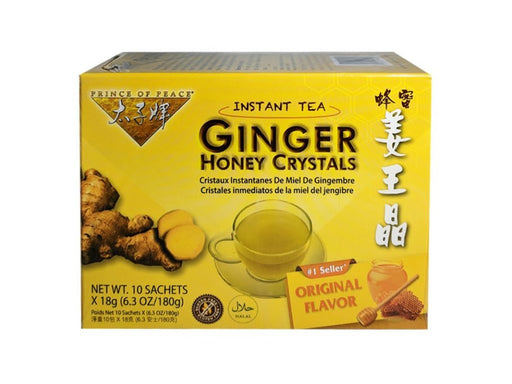 Prince of Peace Ginger Honey Crystals Tea 6.3oz Front