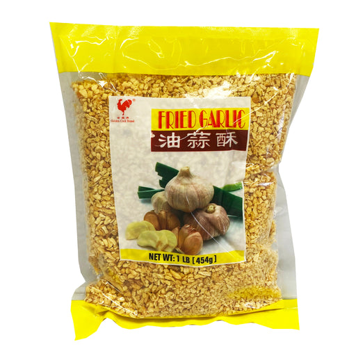 Golden Cock Fried Garlic 16oz Front