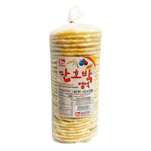 Haitai Korean Crunch Rice Pop with Sweet Pumpkin 4.23oz