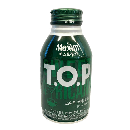 Package Haitai Maxim T.O.P Sweet Americano Coffee 9.29oz Front