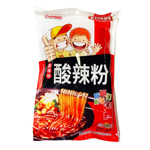 Haogemen Chongqing Style Potato Starch Vermicelli Sour and Spicy Flavor 9.17oz Front