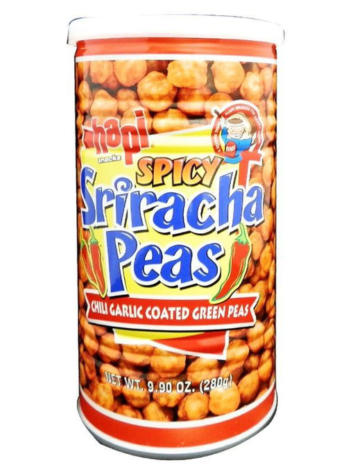 Package Hapi Peas - Spicy Sriracha 9.9oz Front