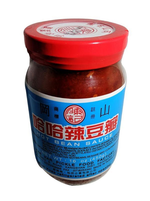 Package Chen's Har Har Hot Bean Sauce 16oz Front
