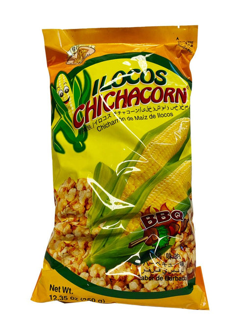 Package Ilocos Chichacorn Bbq 12.35oz Front
