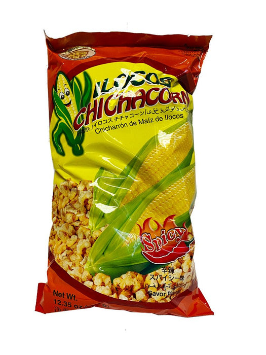 Ilocos Chichacorn Spicy 12.35oz Front