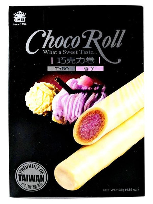Package Imei Choco Roll Taro Flavor 4.83oz Front