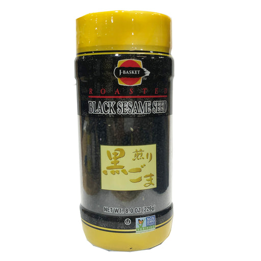 J-Basket Roasted Black Sesame Seed 8oz Image 1