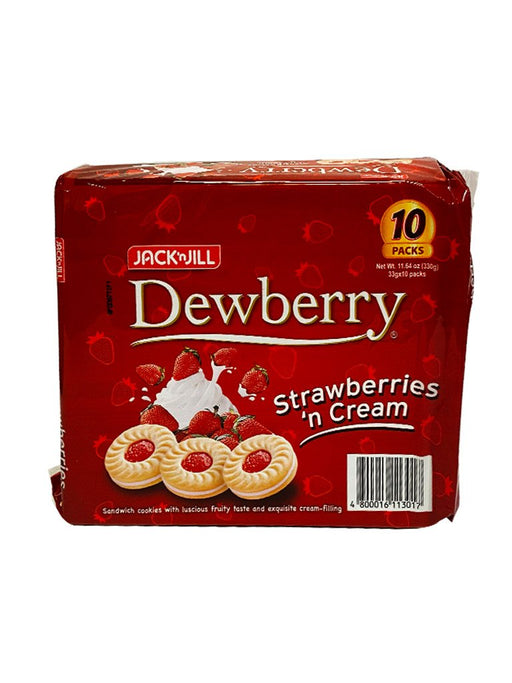 Jack n' Jill Dewberry Strawberry 11.64oz Front