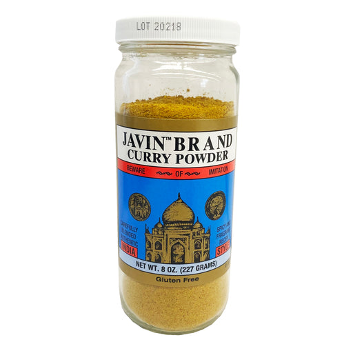 Javin Curry Powder 8oz Front