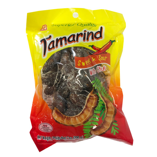 Jhc Tamarind Candy Sweet And Sour Candy With Chili 7oz Image 1