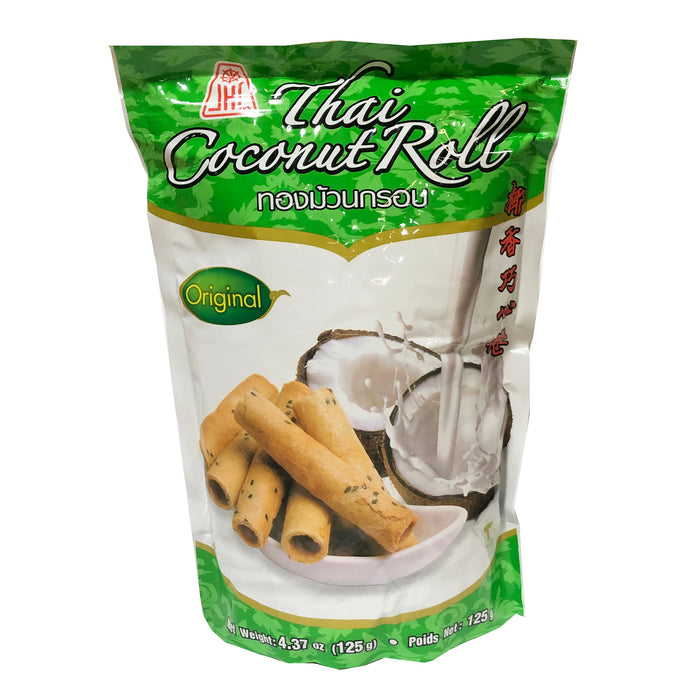 Jhc Thai Coconut Roll Original 5.29oz