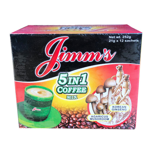 Jimms 5 in 1 Coffee Mix 8.89oz Image 1