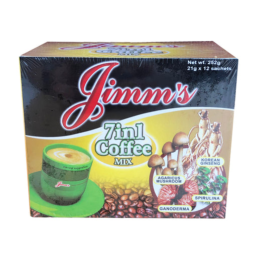 Jimms 7 in 1 Coffee Mix 8.89oz Image 1