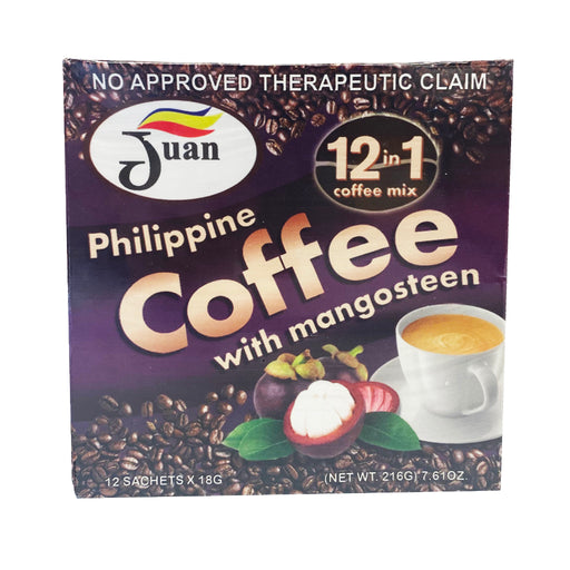 Juan Philippine Coffee with Mangosteen 7.61oz Image 1