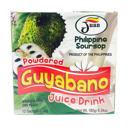 Juan Philippine Powdered Guyabano (Soursop) Juice Drink 6.34oz Image 1