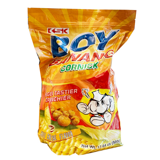 Package KSK Boy Bawang Cornick - Chili Cheese Flavor 17.64oz Front