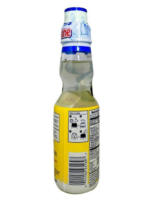 Package Kimura Ramune - Yuzu Citrus Flavor 6.76oz Back