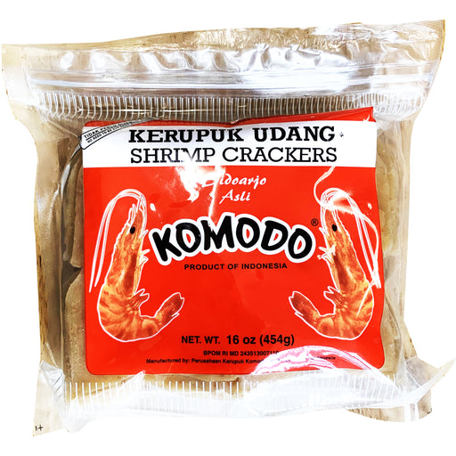 Komodo Shrimp Crackers Ready To Cook 16oz Front