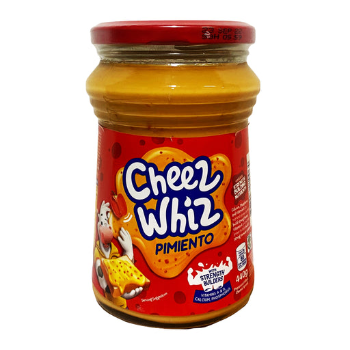 Package Kraft Cheez Whiz - Pimiento 15.8oz Front