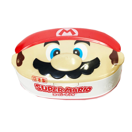 LEC Super Mario Wet Tissue With Case 80 Sheets Image 1