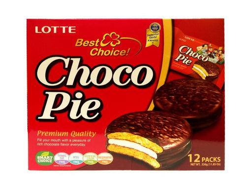 Lotte Choco Pie - Original 11.85oz Front