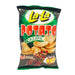 Package LaLa Potato Chips - Barbecue Flavor 3oz Front
