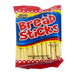 Package Laura's Bread Sticks 3.52oz Front