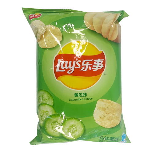 Lay's Potato Chips - Cucumber Flavor 1.05oz Front