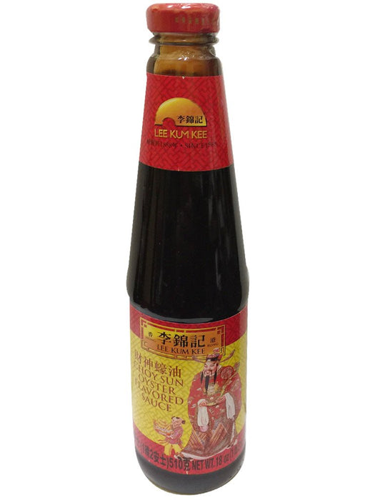 Lee Kum Kee Choy Sun Oyster Sauce 18oz Front