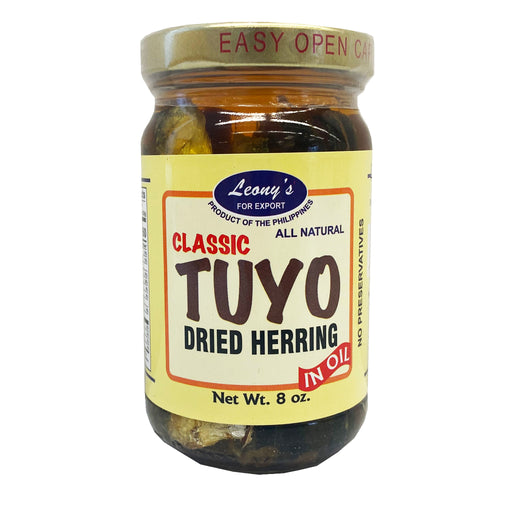 Leony's Classic Tuyo Dried Herring in Oil 8oz Image 1
