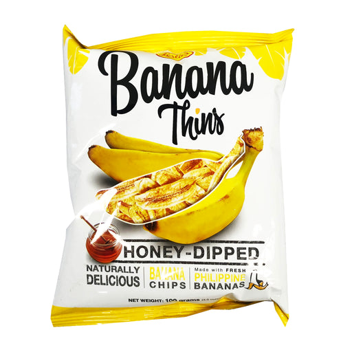 Leslies Banana Thins 3.5oz Front
