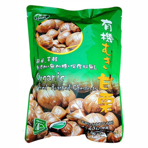 Package Liyuan Organic Chestnuts 8.8oz Front