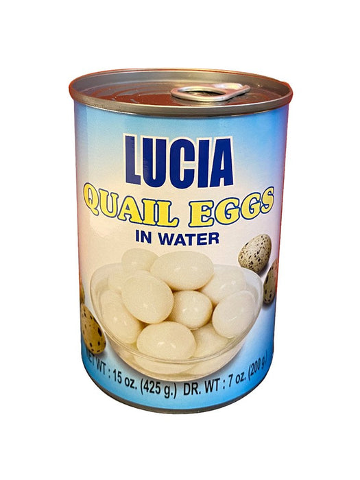 Lucia Quail Eggs In Water 15oz Image 1