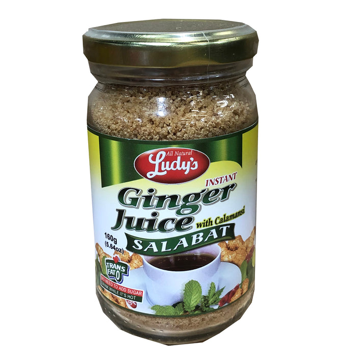 Ludy's Instant Ginger Juice Salabat with Calamansi 5.64oz Front