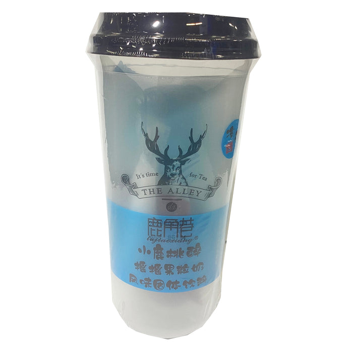 Package Lujiaoxiang Instant Milk Tea Peach Flavor 4.23oz Front