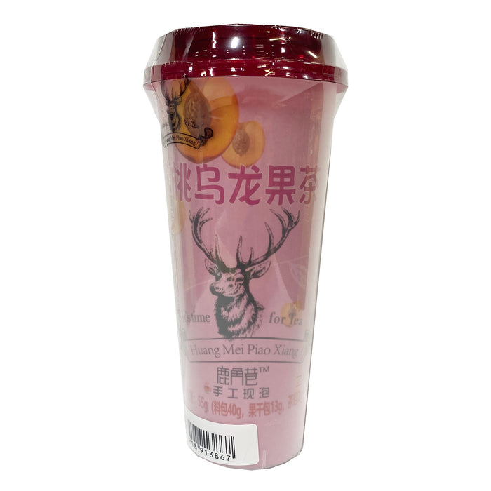 Lujiaoxiang Instant fruit Tea Honey Peach Flavor 4.23oz Front