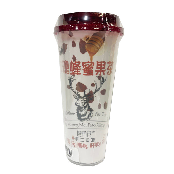 Lujiaoxiang Instant fruit Tea Rose Flavor 4.23oz Front