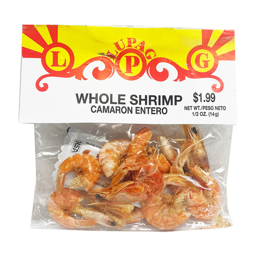 Lupag Whole Shrimp 0.49oz Front