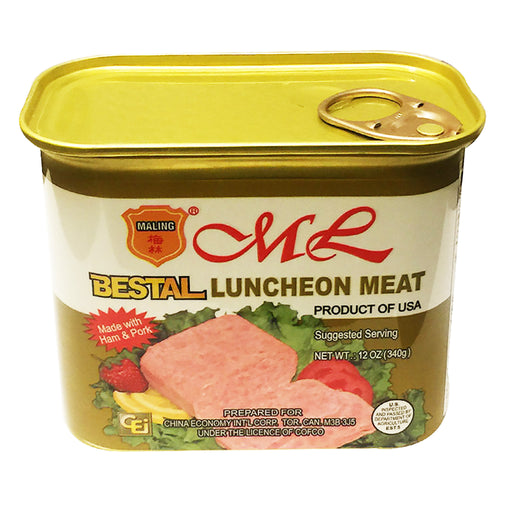 Ma Ling Bestal Luncheon Meat 12oz Image 1