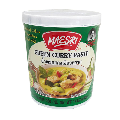 Maesri Green Curry Paste 14oz Image 1