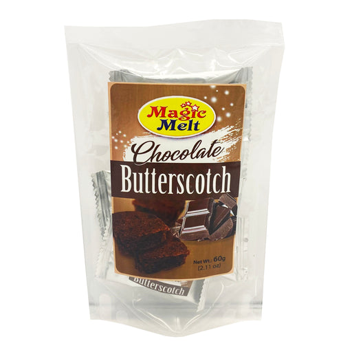 Package Magic Melt Butterscotch - Chocolate 2.11oz front