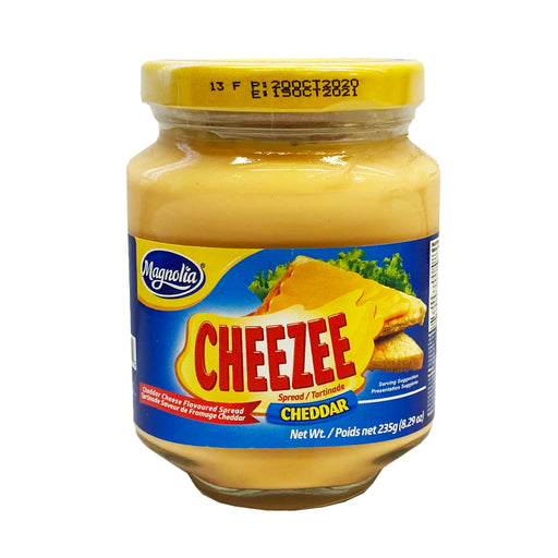 Package Magnolia Cheezee Spread Cheddar 8.29oz Front