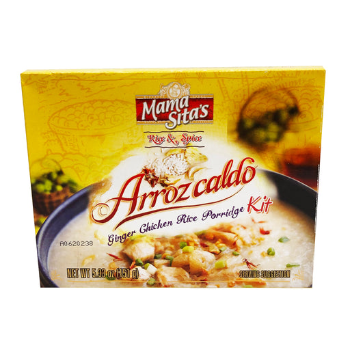 Mama Sita's Arrozcaldo Ginger Chicken Rice Porridge Kit 5.33oz Front