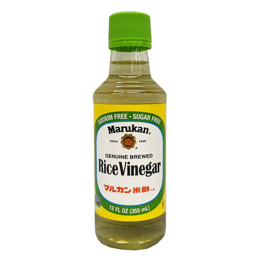 Marukan Rice Vinegar Genuine Brewed 12oz Front