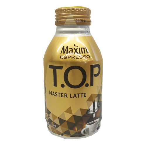 Maxim TOP Master Latte in Can 9.29oz Front